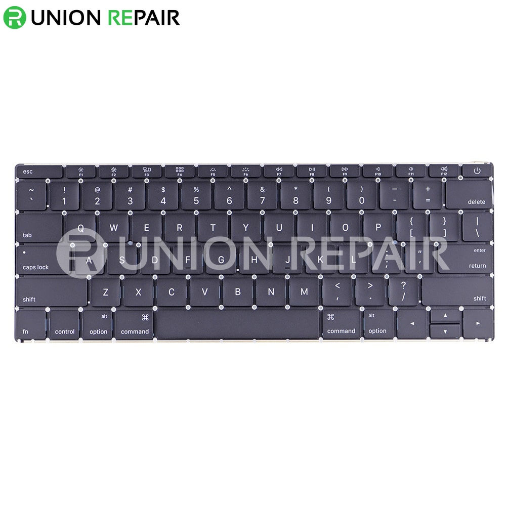 Keyboard With Backlight  Us English  For Macbook 12