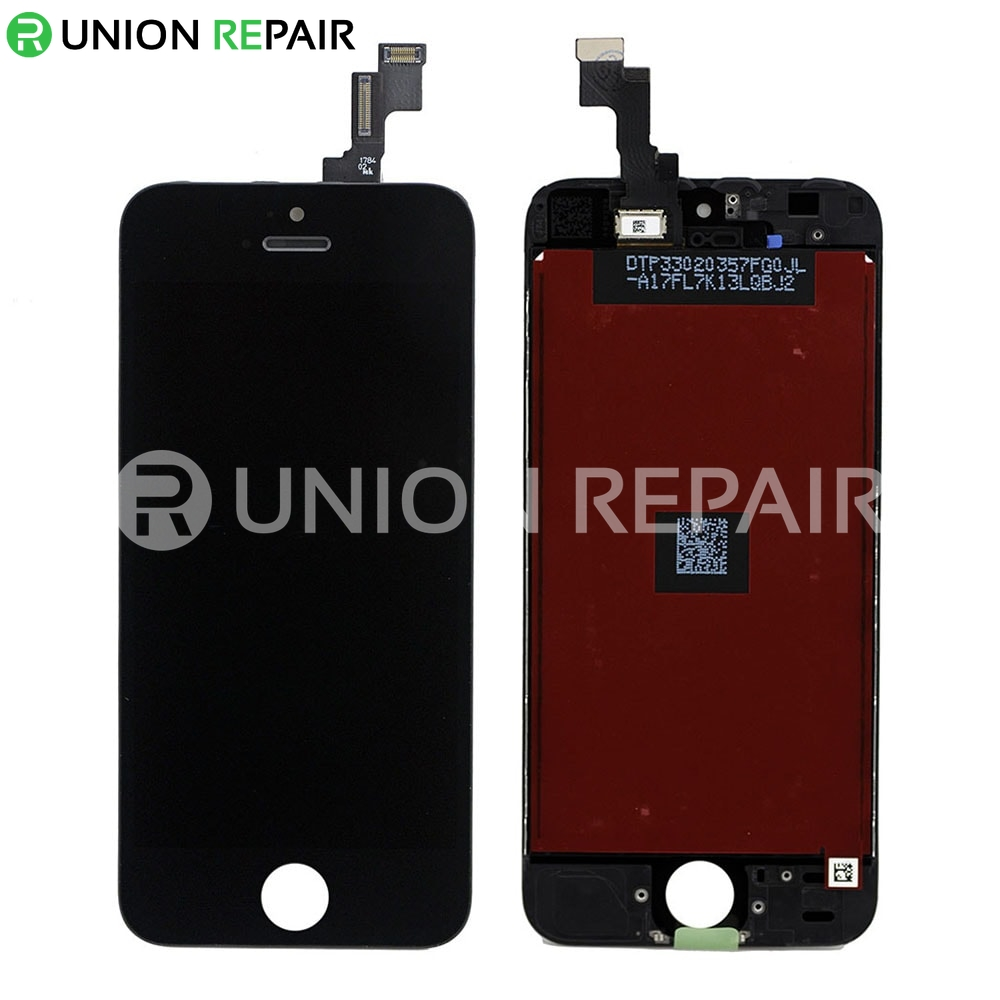 Replacement For Iphone Se Lcd With Digitizer Assembly Black