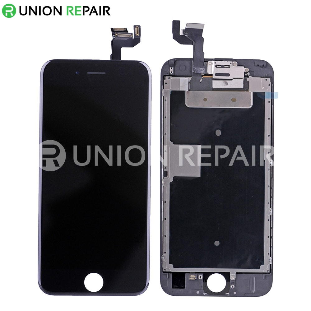 replacement for iphone 6s lcd screen full assembly without home button black. Black Bedroom Furniture Sets. Home Design Ideas