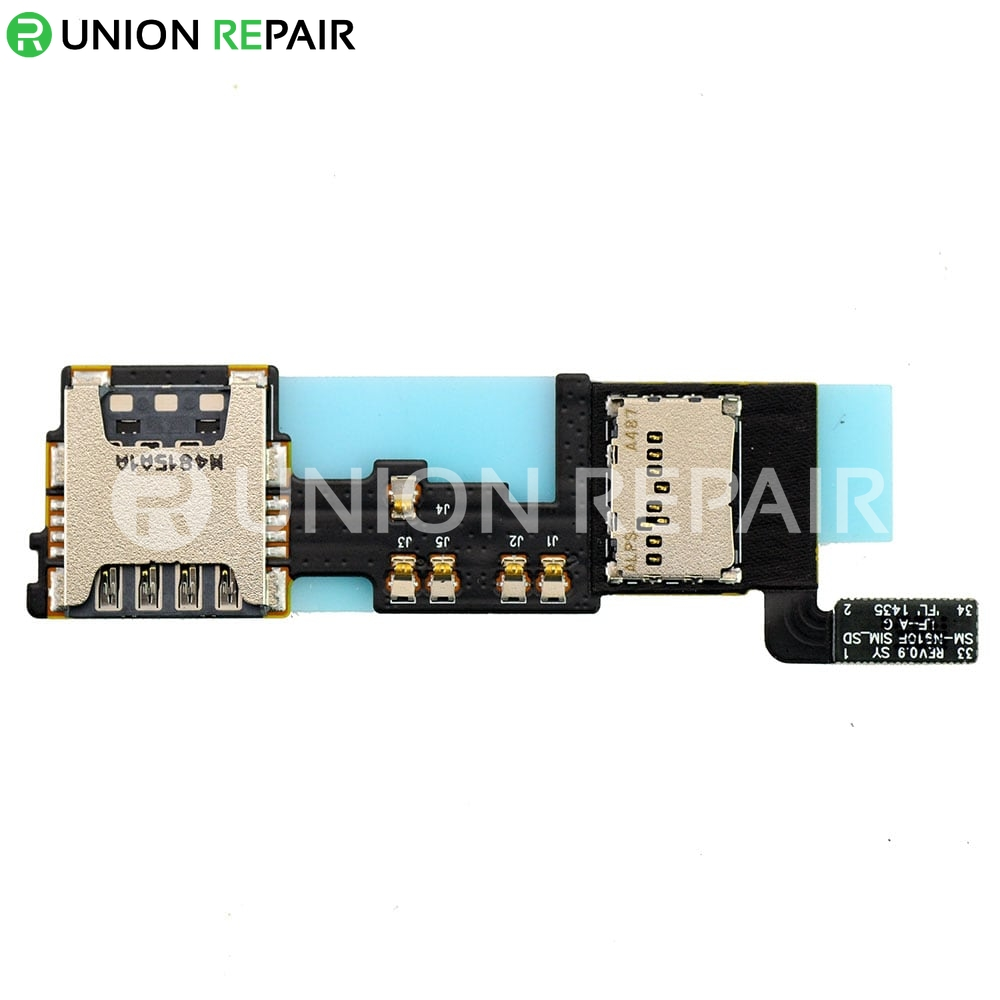 replacement for samsung galaxy note 4 n910f sd  sim card slot