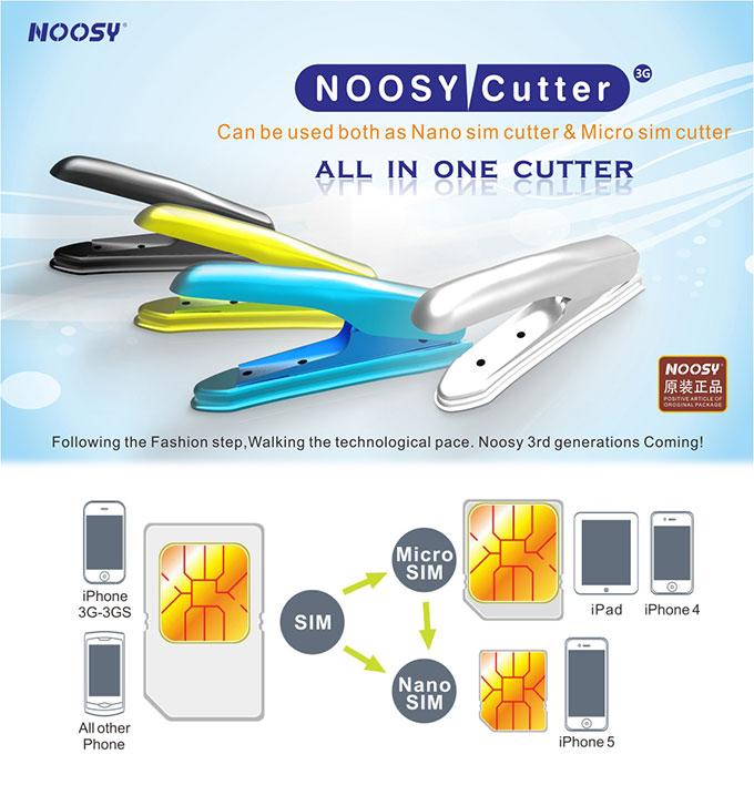 Nano SIM Cutter Silver #NOOSY