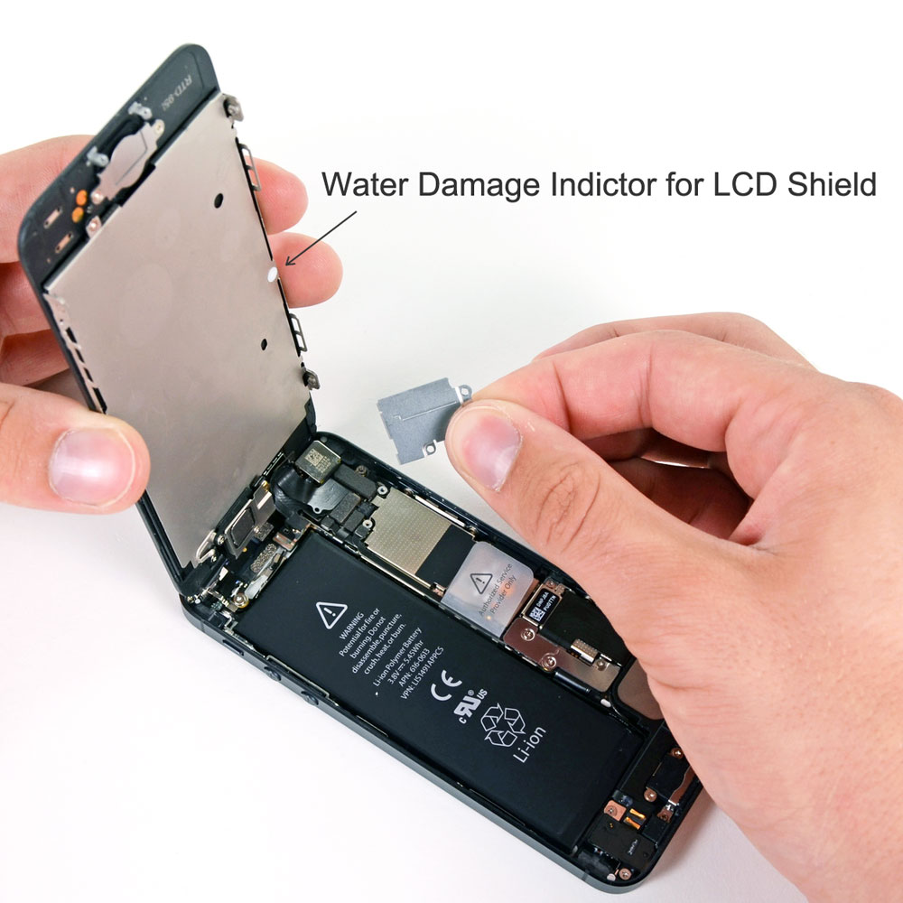 how to fix water damaged iphone 6 replacement for iphone 5 water damage indictor for lcd shield 6810