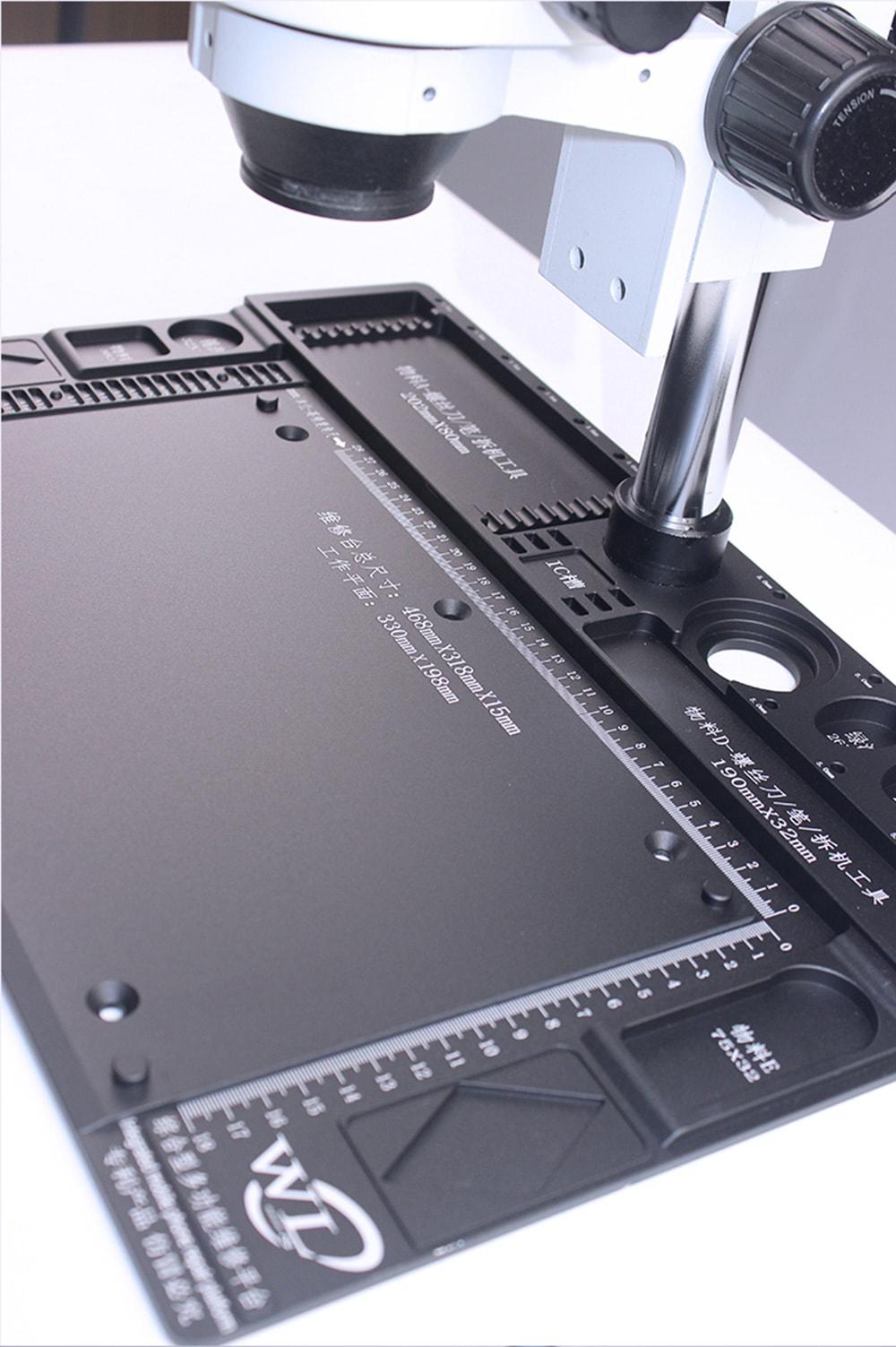 WL Aluminium Alloy Maintenance Platform Microscope Pad 468mm x 318mm