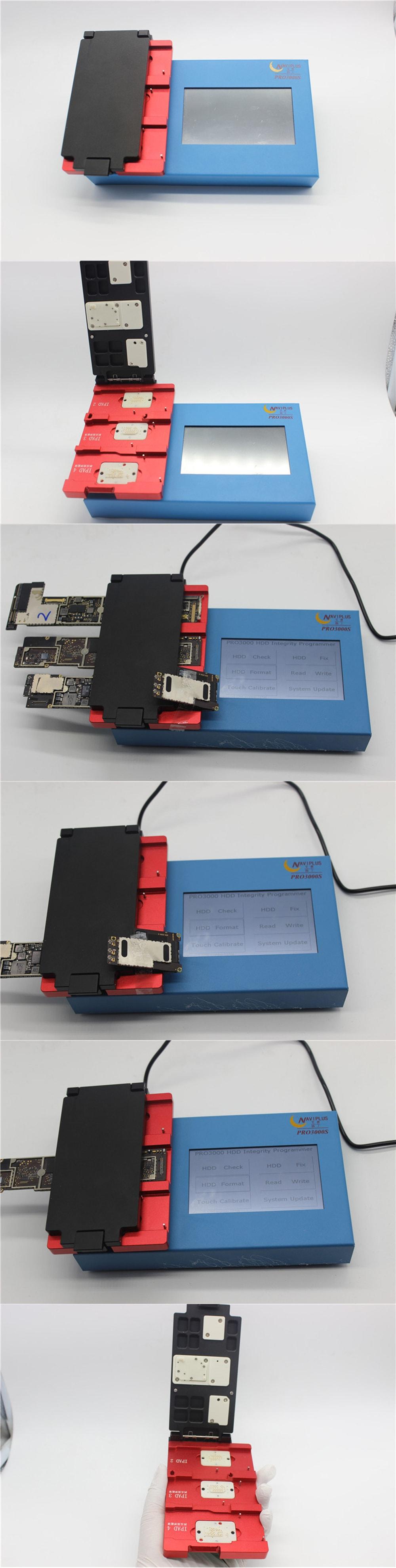 NAVIPLUS Pro 3000S 32 64 BOX Chip Harddisk Repair Programmer
