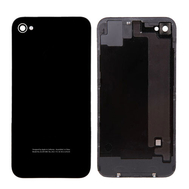 Replacement For iPhone 4 CDMA Back Cover with Frame Black