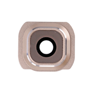 Replacement for Samsung Galaxy S6 Series Camera Lens and Bezel - Gold