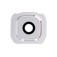 Replacement for Samsung Galaxy S6 Series Camera Lens and Bezel - White
