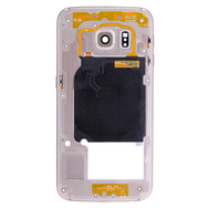 Replacement for Samsung Galaxy S6 Edge SM-G925 Rear Housing Assembly - Gold