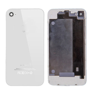 Replacement For iPhone 4 Back Cover with Frame White