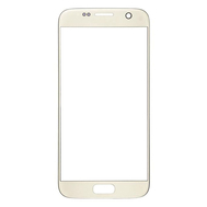 Replacement for Samsung Galaxy S7 Front Glass Lens Replacement With Logo - Gold