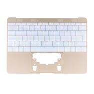 "Gold Upper Case (British English) for MacBook 12"" Retina A1534 (Early 2015)"