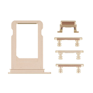 Replacement for iPhone 7 Side Buttons Set with SIM Tray - Gold