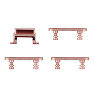 Replacement for iPhone 7 Side Buttons Set - Rose