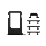 Replacement for iPhone 7 Plus Side Buttons Set with SIM Tray - Black