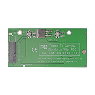 17+7pins SSD to SATA Adapter for MacBook Pro Retina A1398 A1425 (Mid 2012,Late 2012)