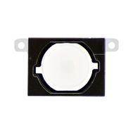 Replacement For iPhone 4S Home Button with Rubber Gasket White