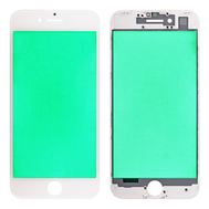 Replacement for iPhone 7 Front Glass with Cold Pressed Frame - White