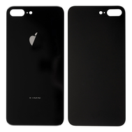 Replacement For iPhone 8 Plus Back Cover - Black