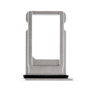 Replacement for iPhone 8 Plus SIM Card Tray with Waterproof Circle - Silver