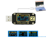 POWER-Z USB PD Tester Voltage Current Type-C Meter KM001