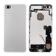 Replacement for iPhone 7 Plus Back Cover Full Assembly - Silver