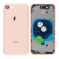 Replacement for iPhone 8 Back Cover with Frame Assembly - Gold