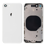 Replacement for iPhone 8 Back Cover with Frame Assembly - Silver
