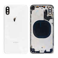 Replacement for iPhone X Rear Housing with Frame - White