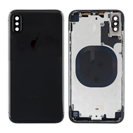Replacement for iPhone X Rear Housing with Frame - Black