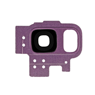 Replacement for Samsung Galaxy S9 SM-G960 Rear Camera Holder with Lens - Purple