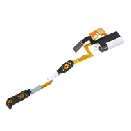 Replacement for iPod Nano 6th Gen Headphone Jack Flex Cable with Metal Plate
