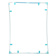 Replacement for iPad 2 LCD Screen Supporting Frame with Adhesive White