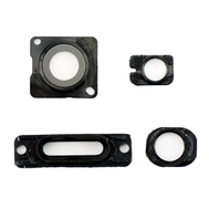 Replacement for iPhone 5 Black Back Cover Small Parts 4pcs/Set