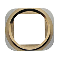 Replacement for iPhone 5S/SE Home Button Metal Ring - Gold
