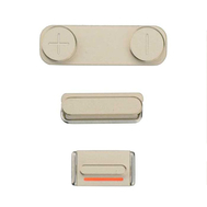 Replacement for iPhone 5S/SE Side Buttons Set - Gold
