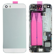 Replacement for iPhone 5S Back Cover Full Assembly - Silver