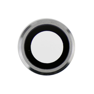 Replacement for iPhone 6/6S Rear Camera Holder with Lens - Silver
