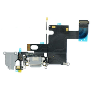 Replacement for iPhone 6 Headphone Jack with Charging Connector Flex Cable - Dark Gray
