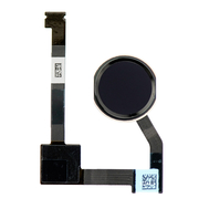 "Replacement for iPad Air 2 / iPad Mini 4 / iPad Pro 12.9"" Home Button Assembly with Flex Cable Ribbon - Black"