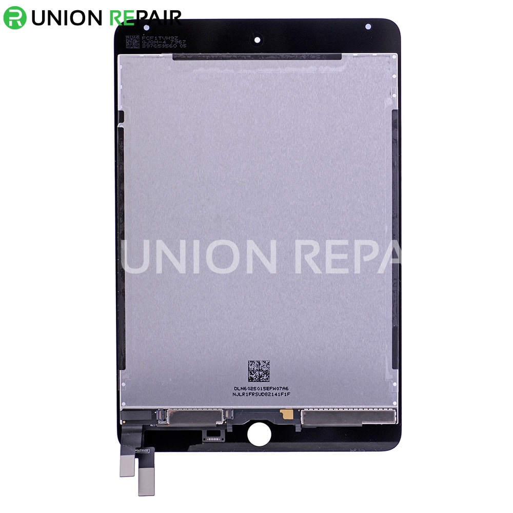 Replacement for iPad Mini 4 LCD with Digitizer Assembly without Home Button - Black