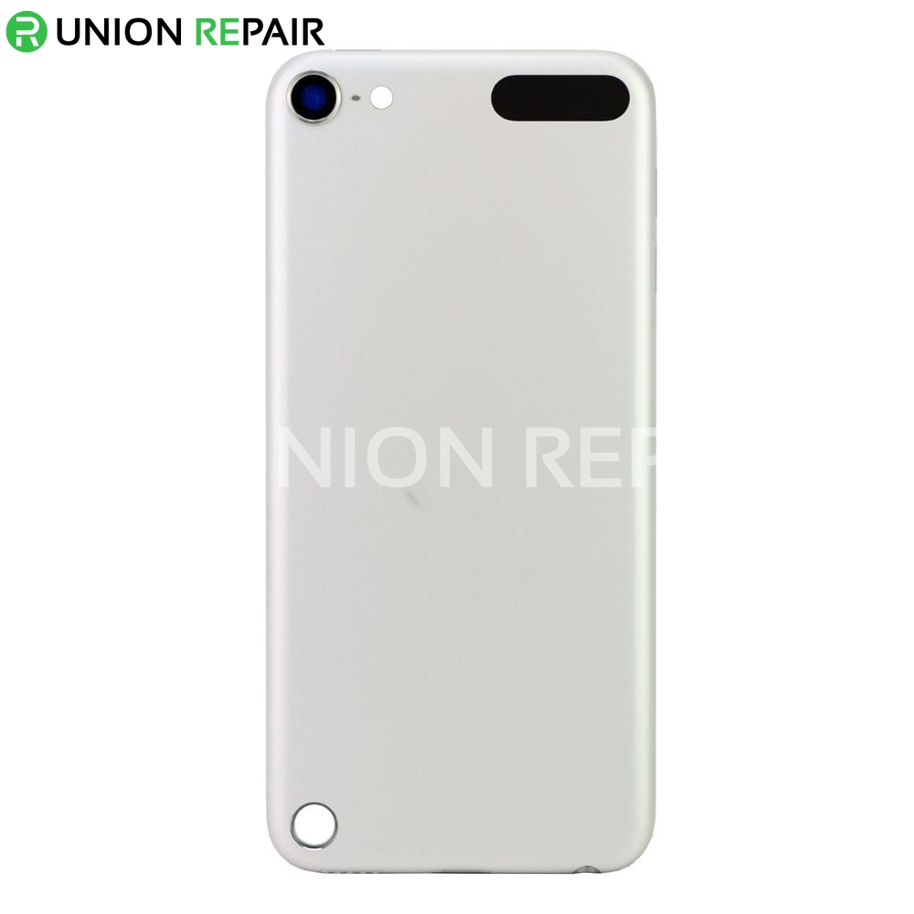 Replacement for iPod Touch 5th Gen Back Cover White & Silver  Replacement for...