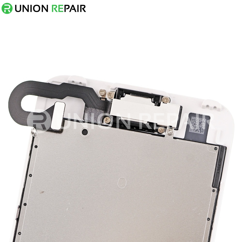 Replacement for iPhone 7 LCD Screen Full Assembly without Home Button - White