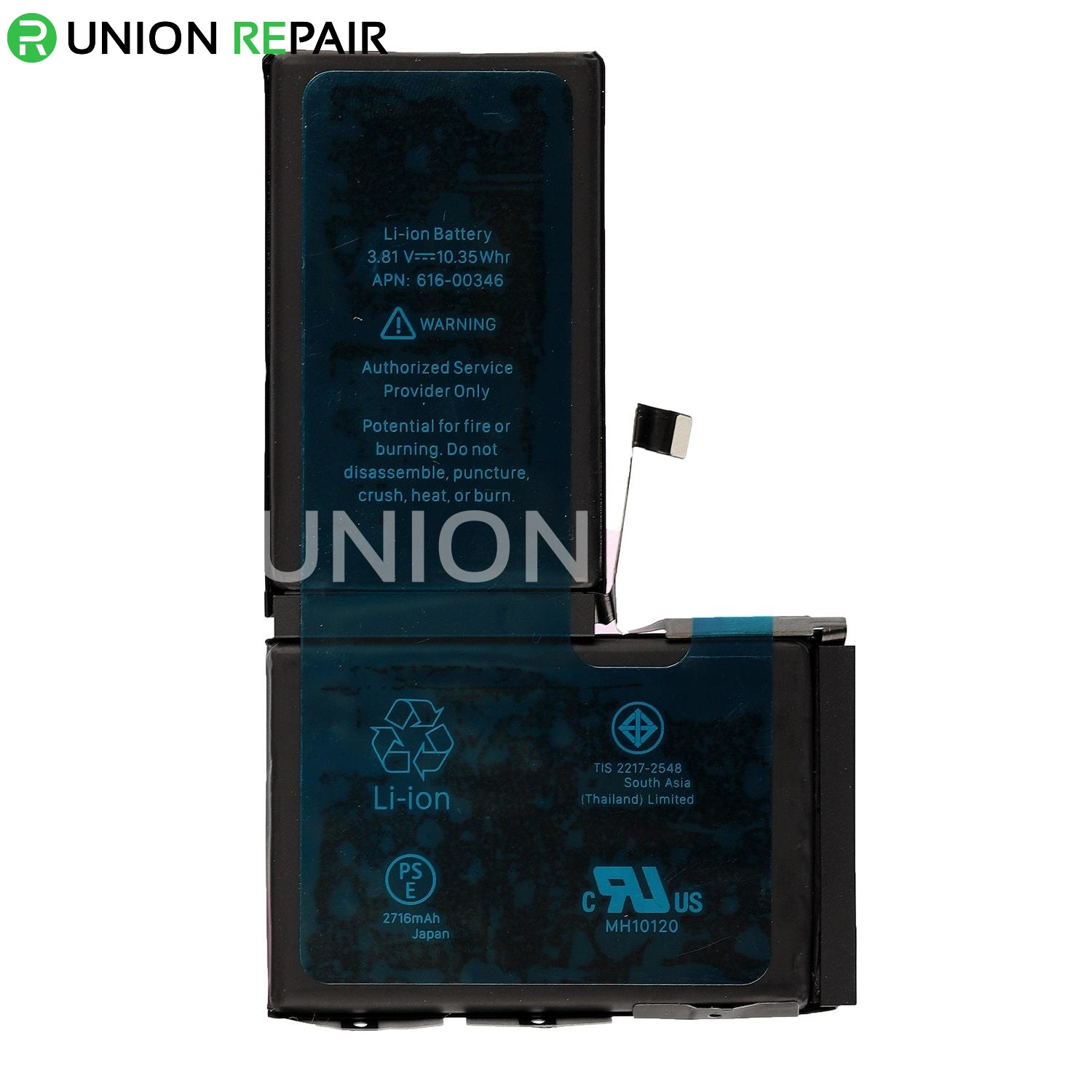Replacement for iPhone X Battery (2716mAh)