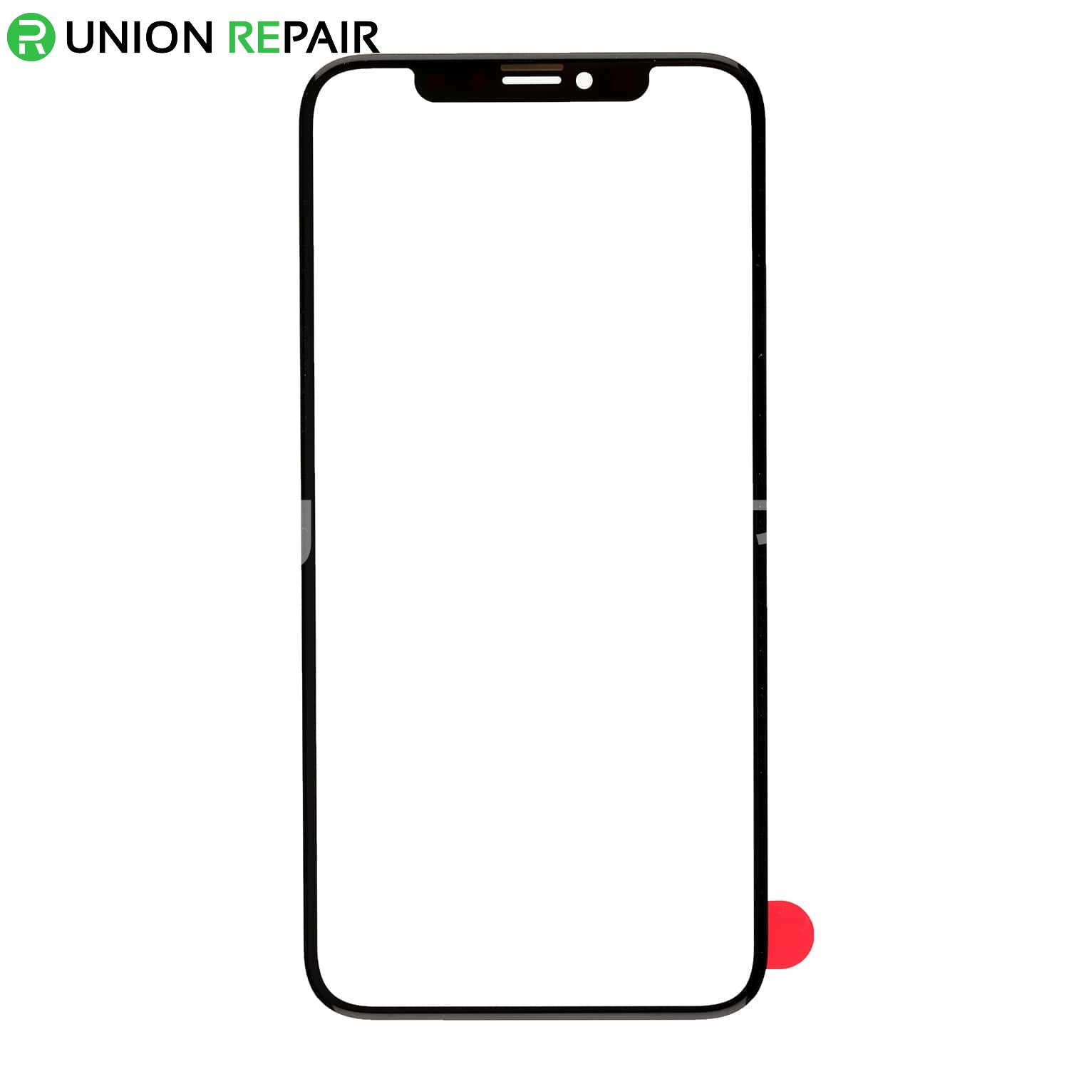 iphone white screen replacement for iphone x front glass lens black 12491