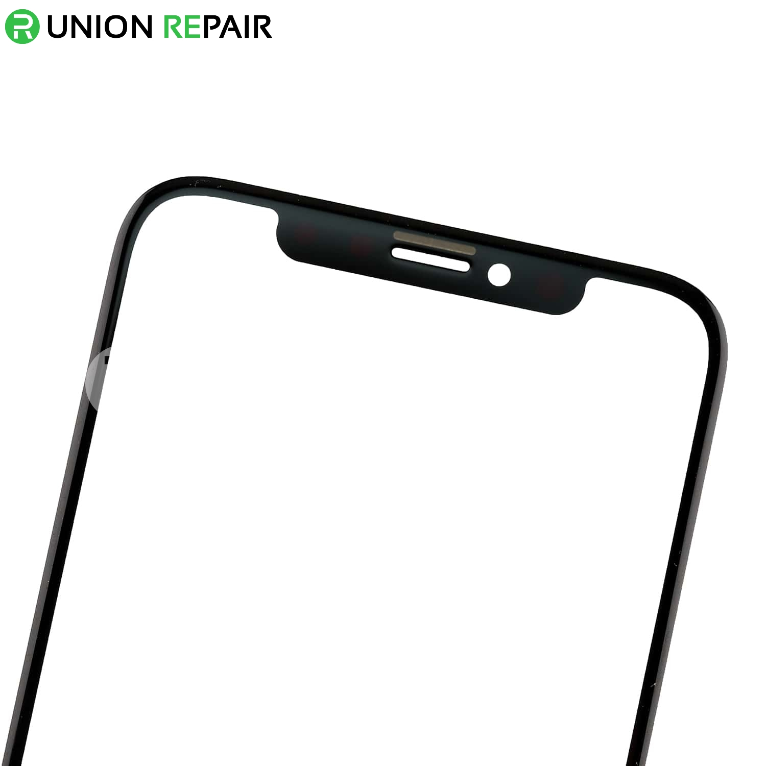 Replacement for iphone x front glass lens black - Reparation telephone lens ...