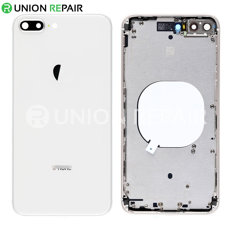 iphone 8 plus silver phone case