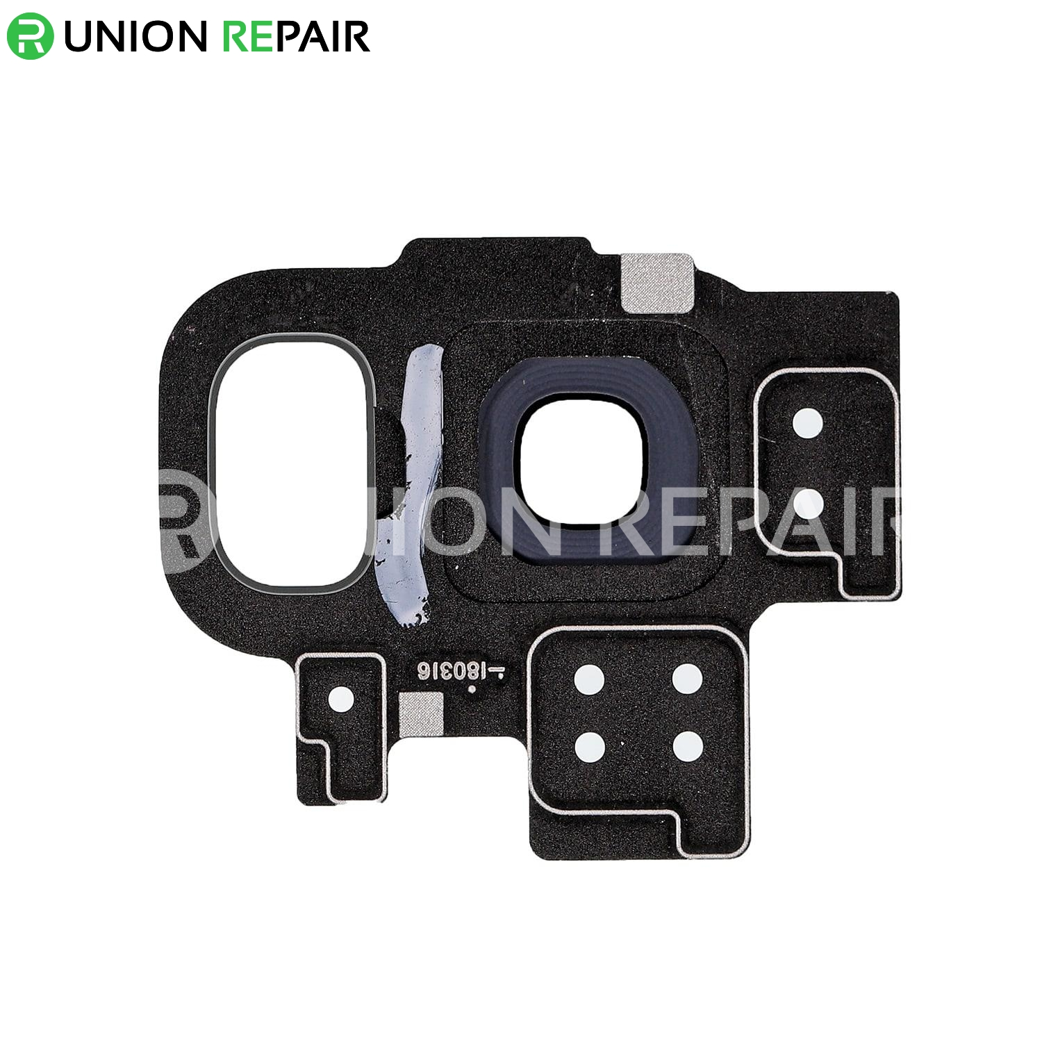 Replacement for Samsung Galaxy S9 SM-G960 Rear Camera Holder with Lens - Grey