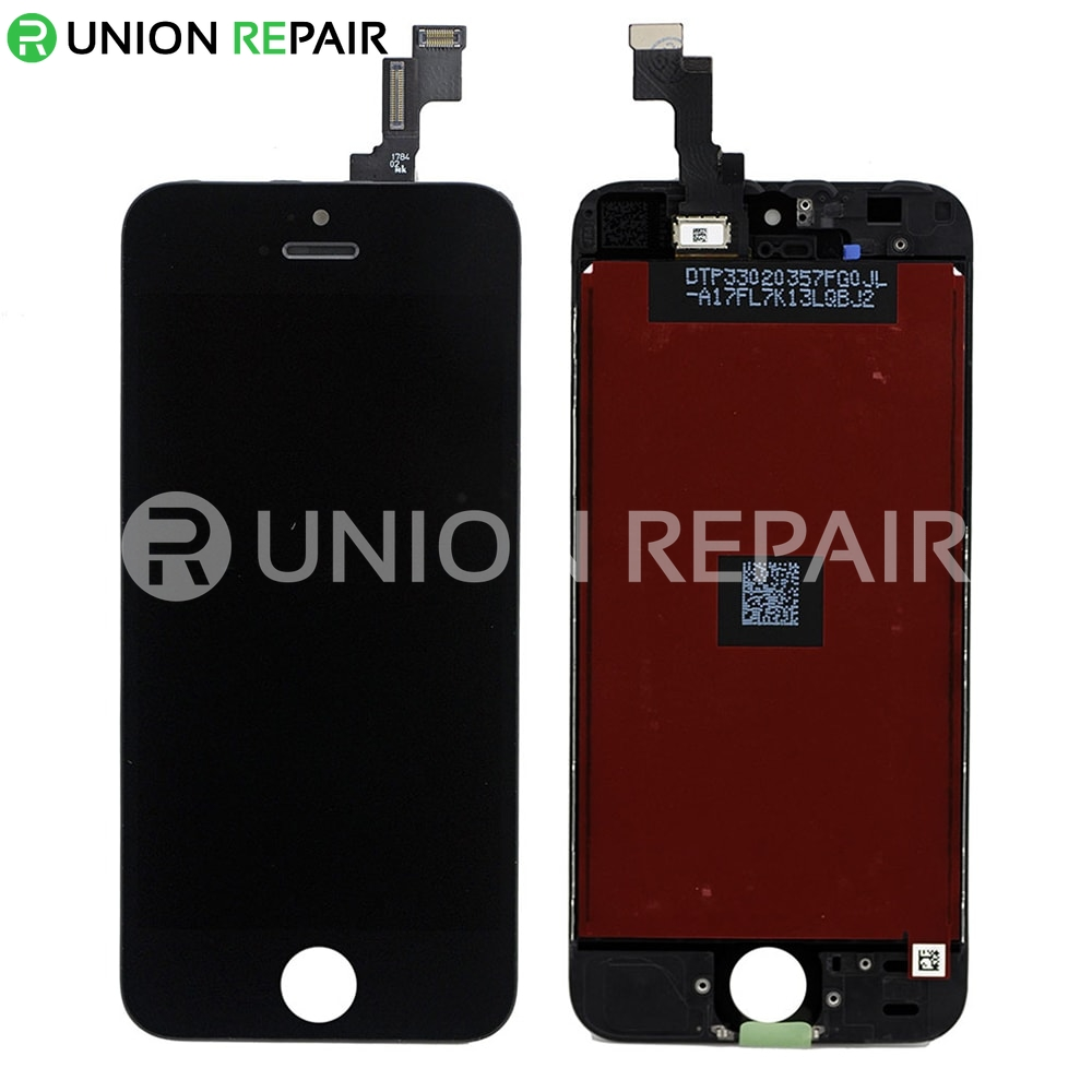 iphone 5s digitizer replacement replacement for iphone 5s lcd with digitizer assembly black 7714