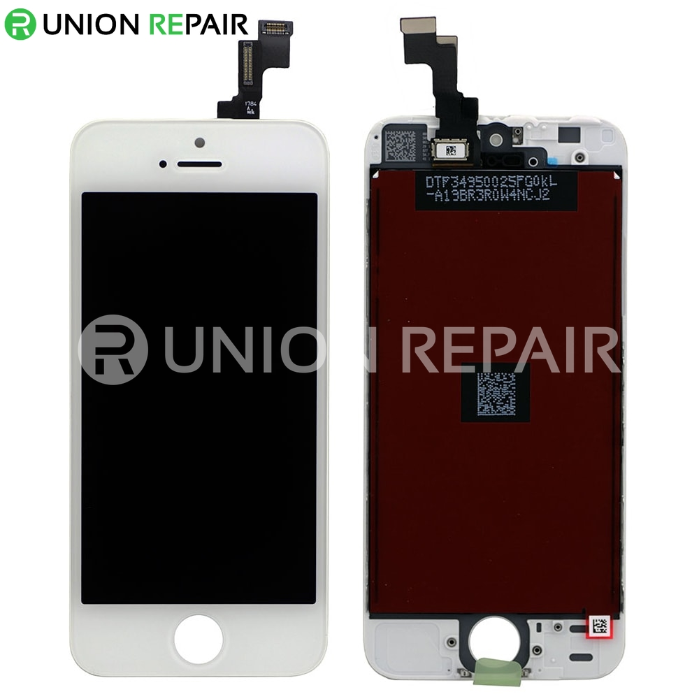 iphone 5s digitizer replacement replacement for iphone 5s lcd with digitizer assembly white 7714