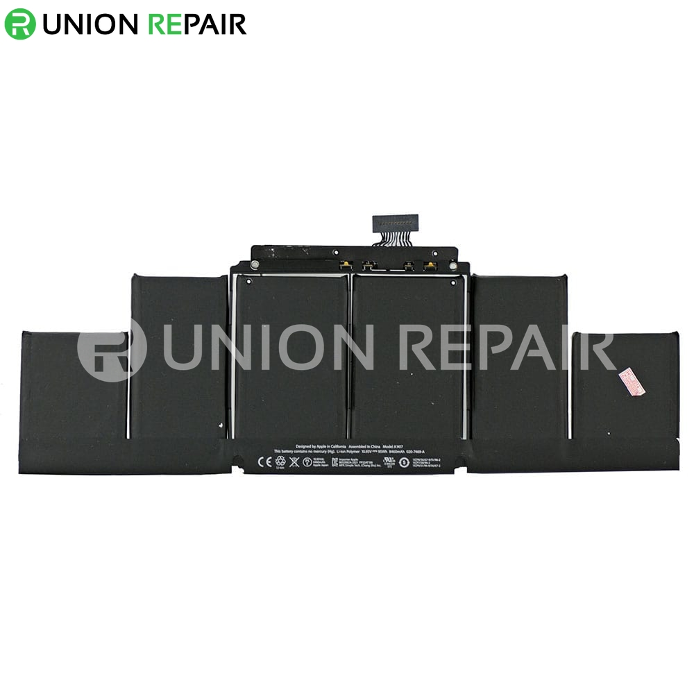 battery a1417 for macbook pro 15 retina a1398 mid 2012. Black Bedroom Furniture Sets. Home Design Ideas